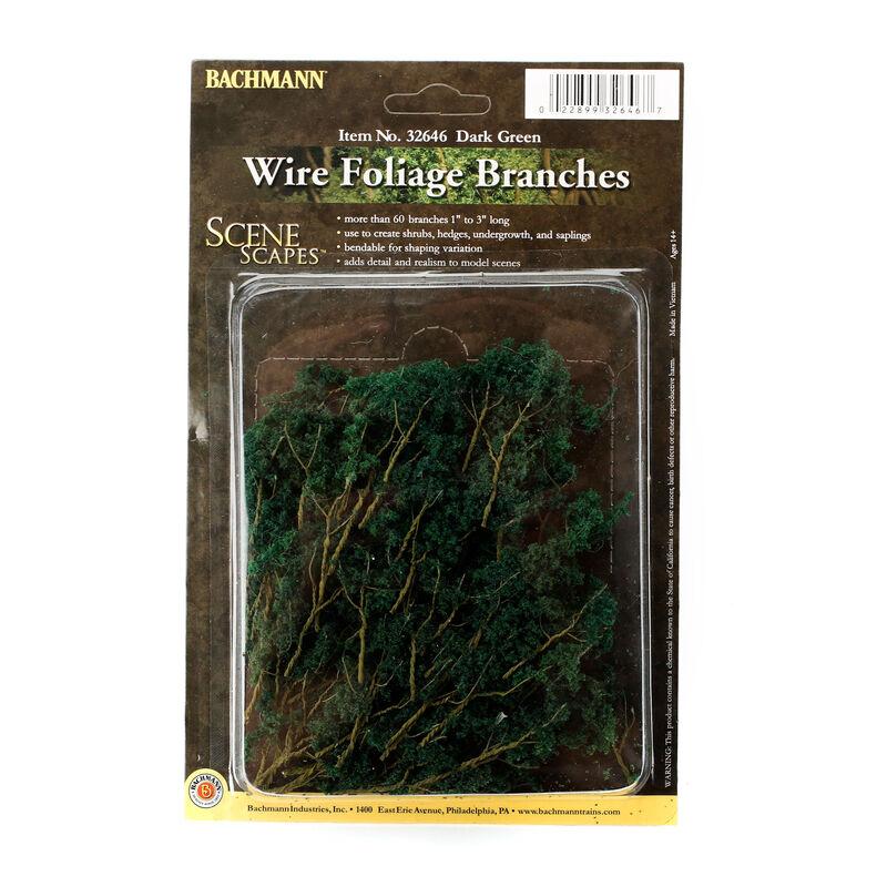 Scenescapes Wire Foliage Branches, Dark