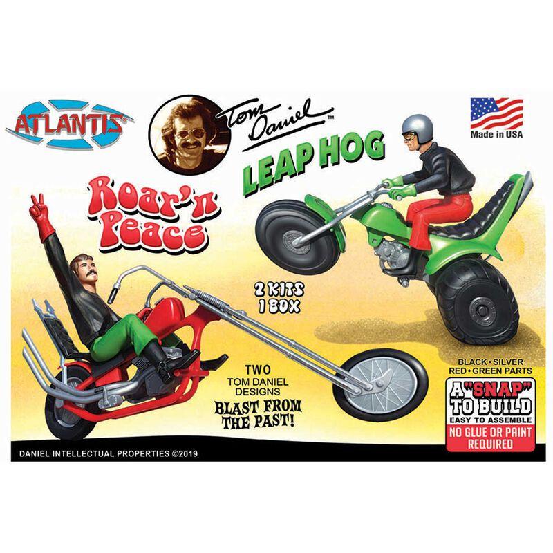 Tom Daniel Leap Hog ATV Motorcycle Snap Model