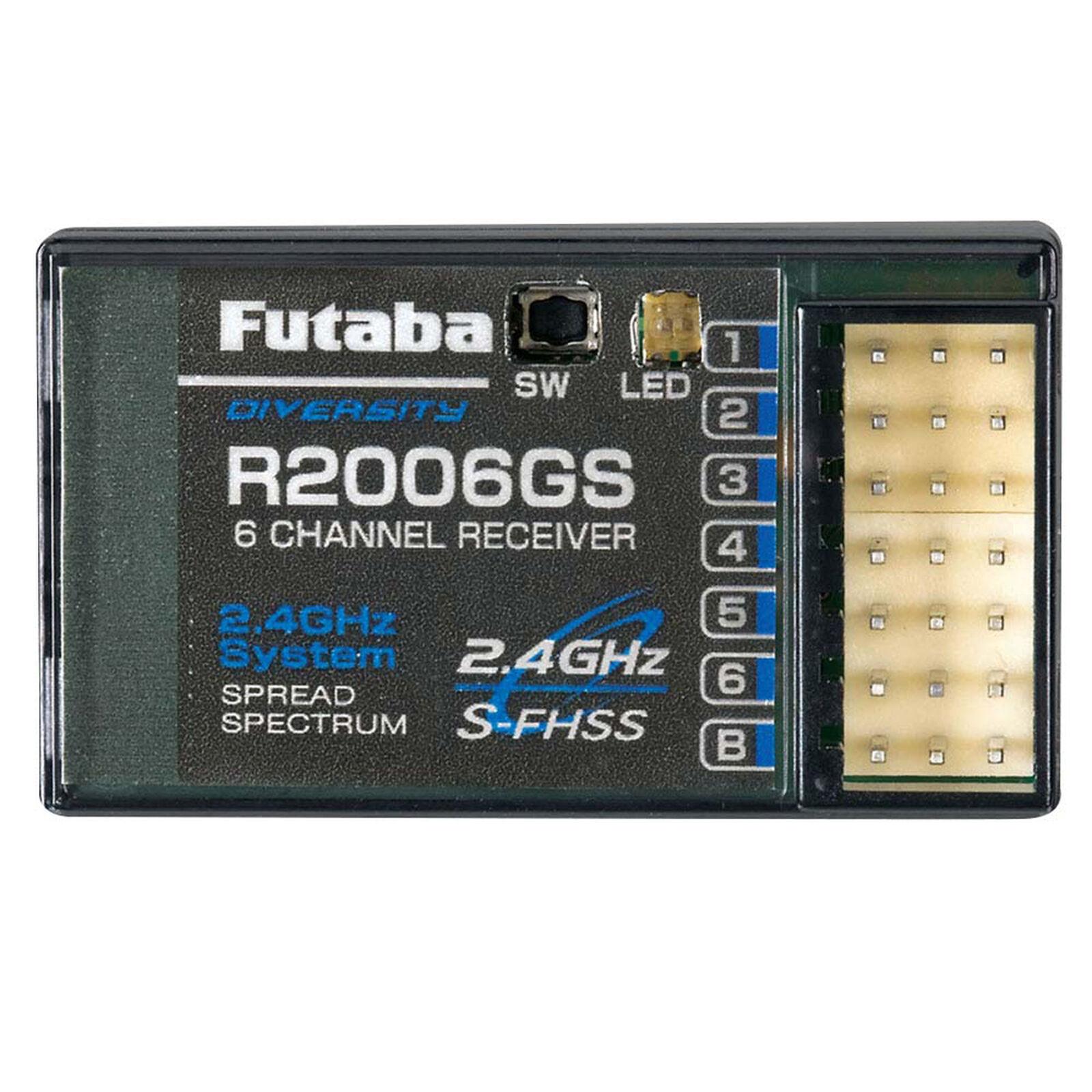 R2006GS 6-Channel S-FHSS Receiver 6J