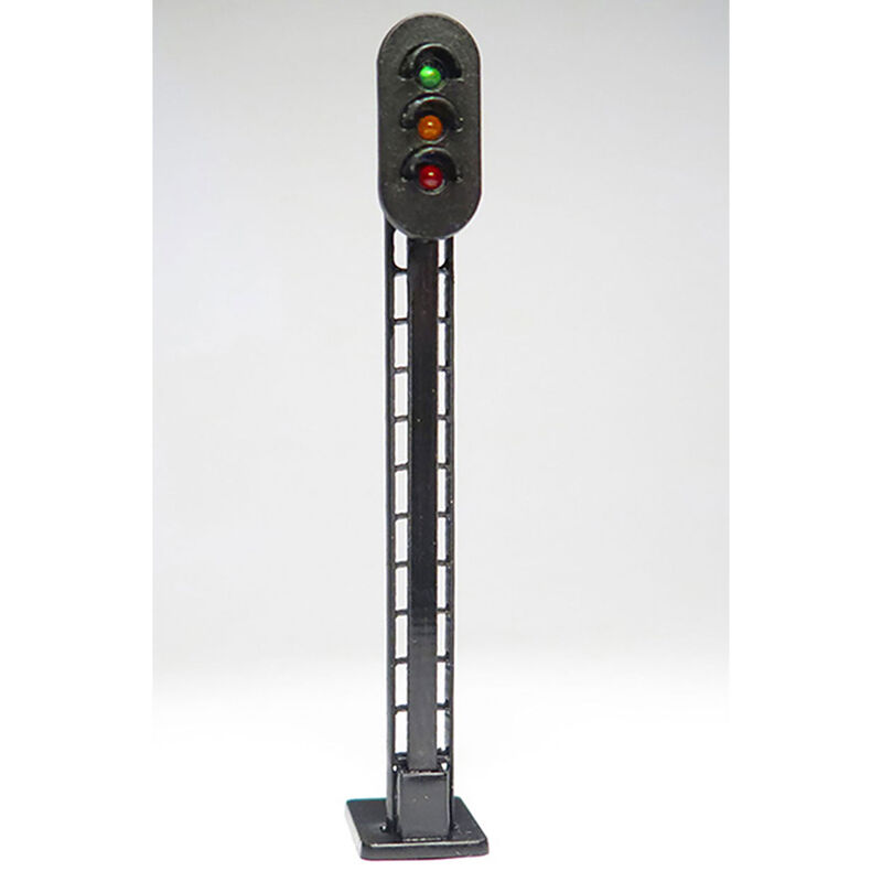 HO 3-Color Lighted Block Signals (3)