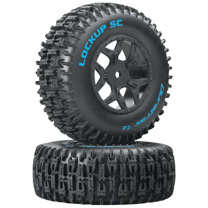 Lockup SC Tire C2 Mounted: Losi Ten SCTE 4x4(2)