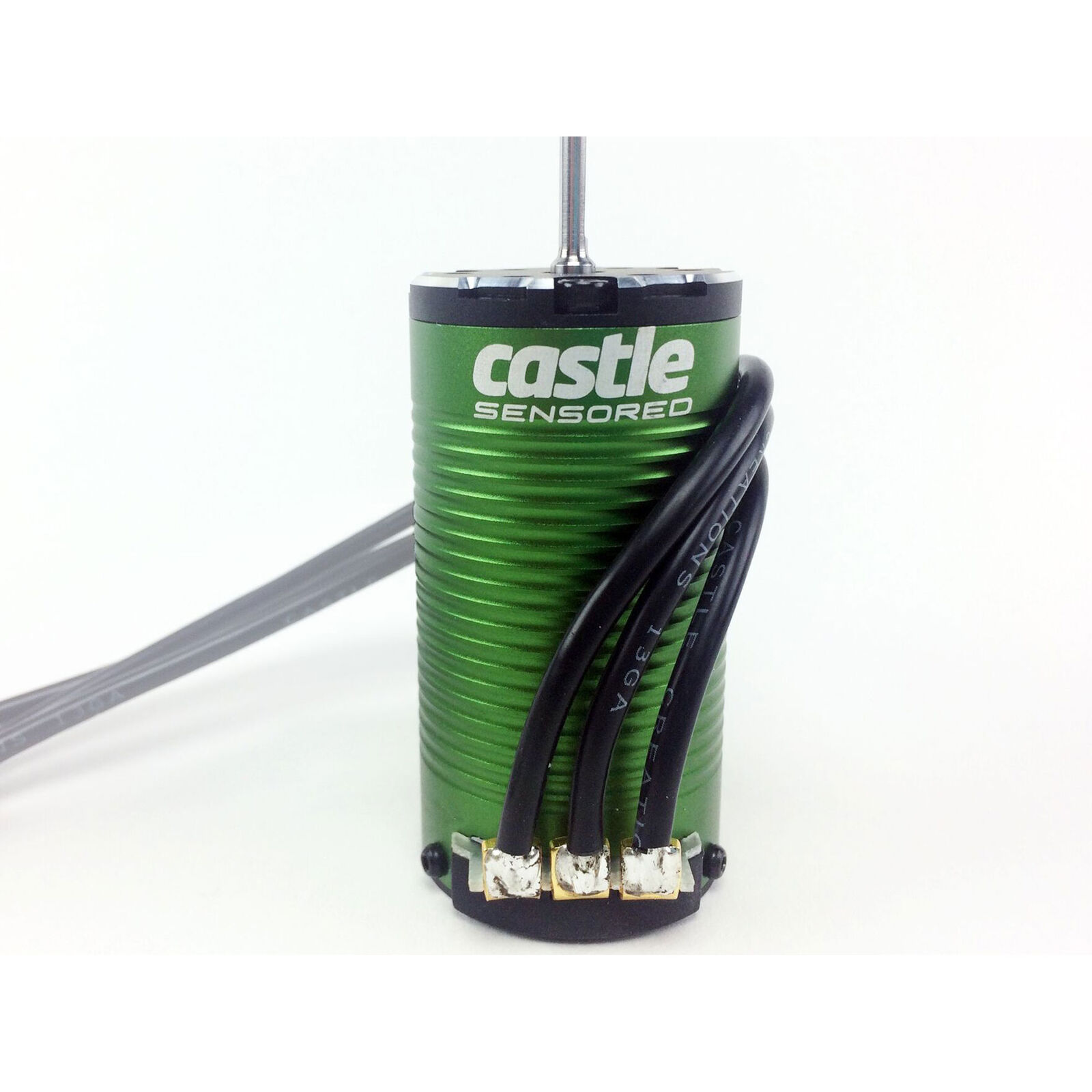 1/10 4-Pole Sensored Brushless Motor, 1415-2400Kv: 4mm Bullet