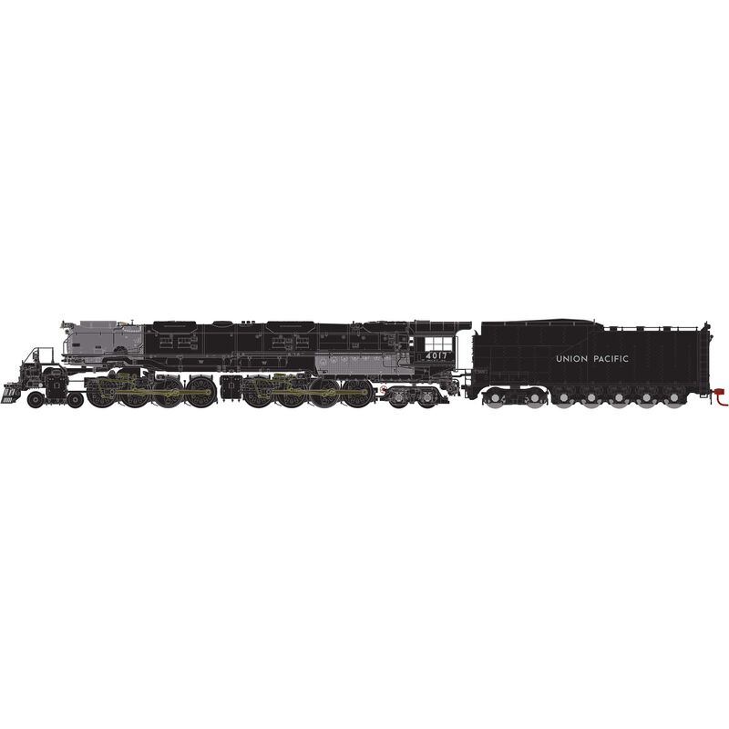 HO 4-8-8-4 Big Boy with DCC & Sound UP #4017