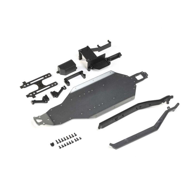 Aluminum Chassis Conversion Kit: 22S SCT/Drag Car