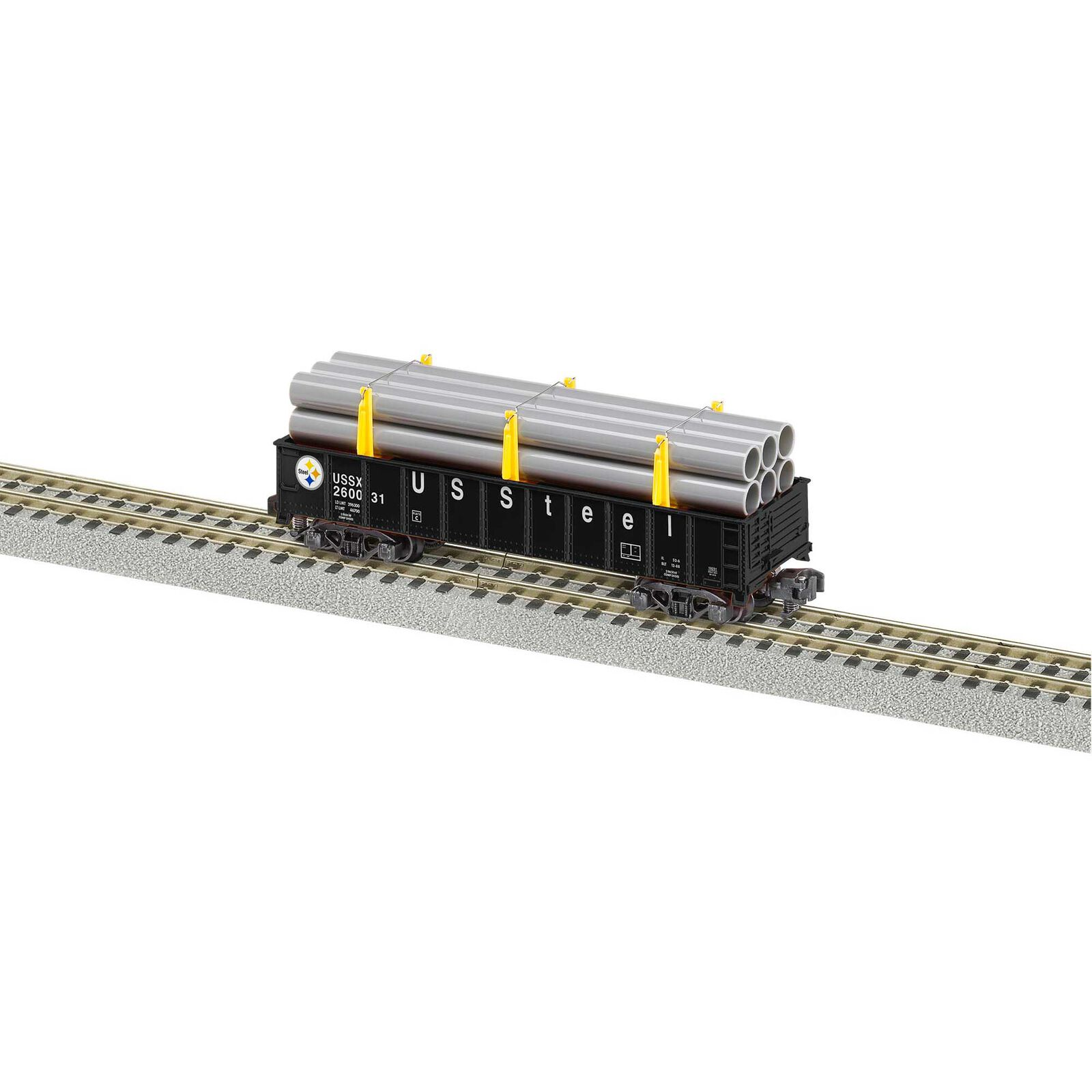 S Gondola with Pipe Load USSTL #260031