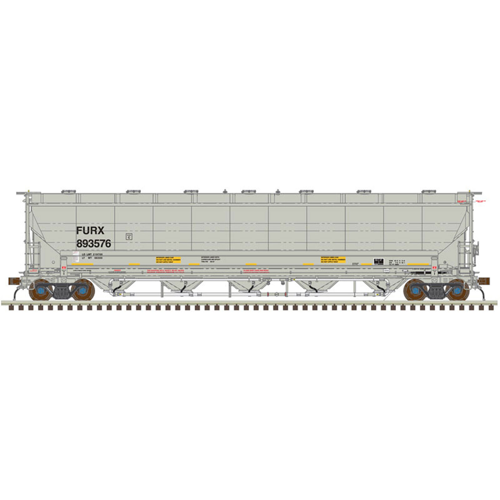N Trinity 5660 Covered Hopper First Union #893509