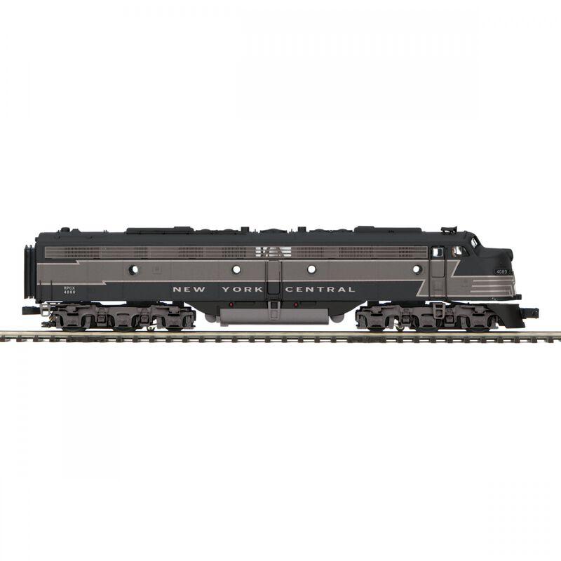 O-27 E8 A with PS3 Hi-Rail NYC #4080