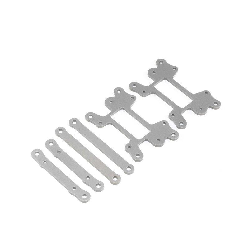 Hinge Pin Brace Set, Hard Anodized: LST 3XL-E
