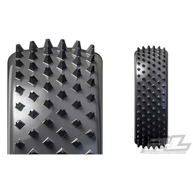 """Pyramid 2.2"""" 2WD Z3 Buggy Front Tire"""