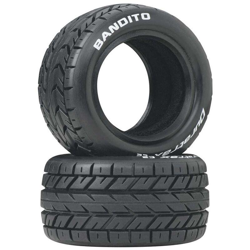 Bandito 1/10 Buggy Tires Rear 4WD C2 (2)
