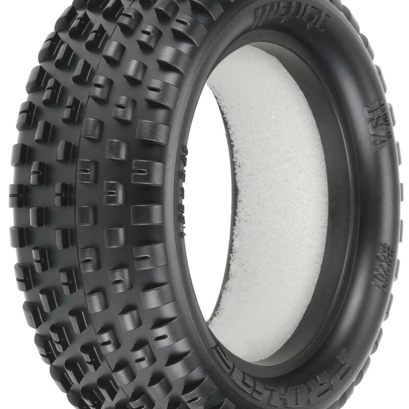 1/10 Front Wedge 2.2 4WD Z4 Off-Road Carpet Tires (2): Buggy
