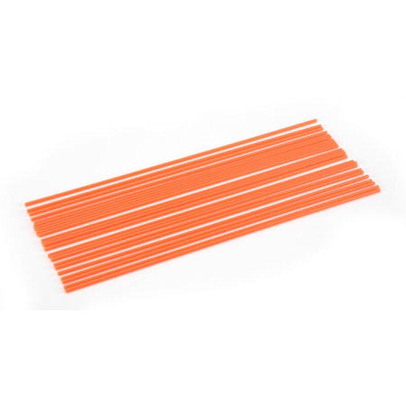Antenna Tubes, Neon Orange (24)