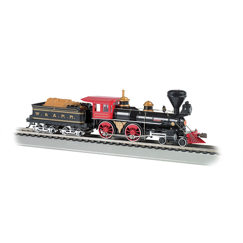 HO 4-4-0 w DCC & Sound Value W&ARR The General