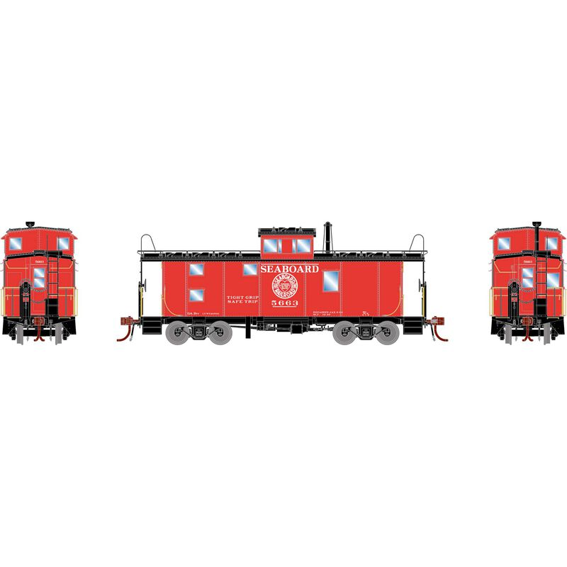 HO ICC Caboose with Lights & Sound, SAL #5663