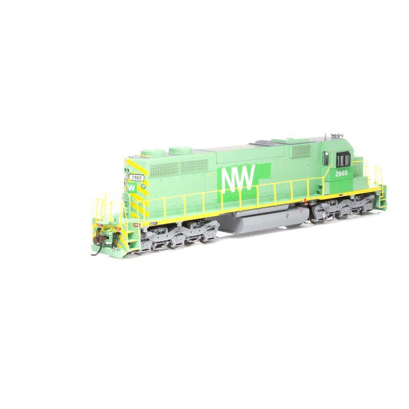 HO RTR SD39 N&W #2965