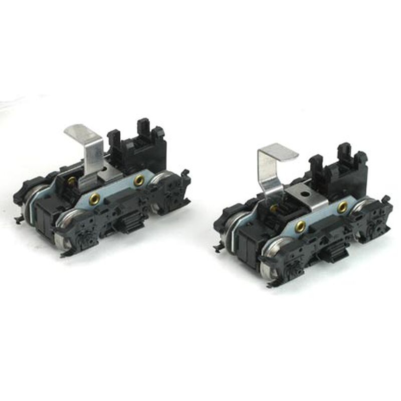 HO Front/Rear Power Truck Set, M-Blomberg