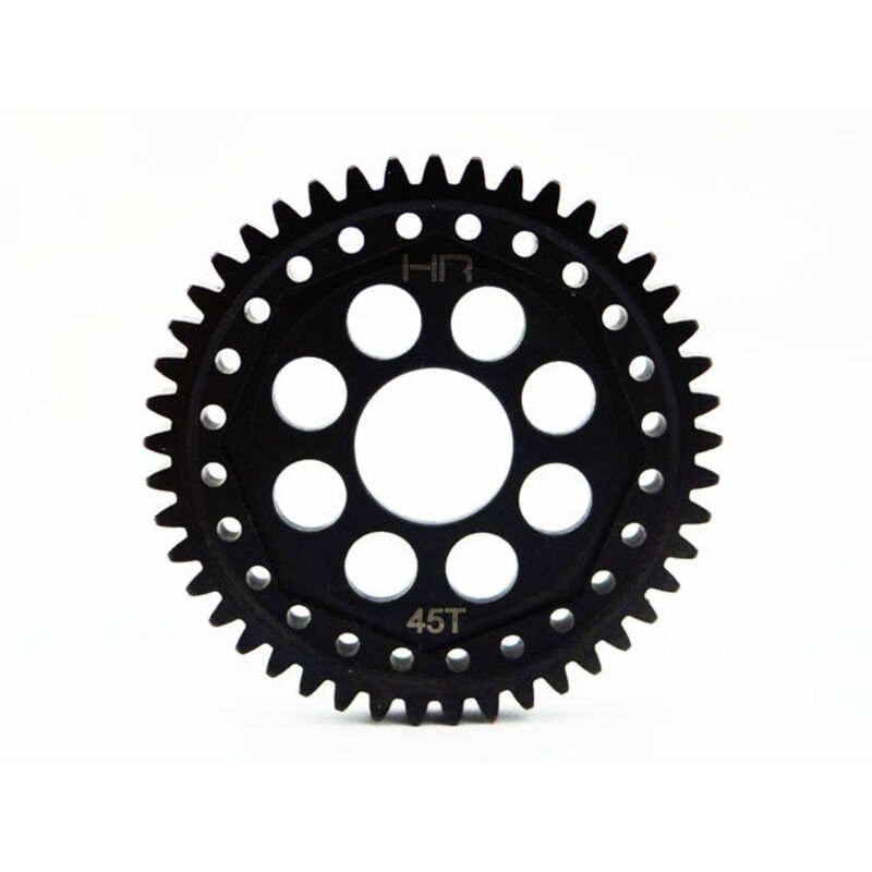 Steel 45 Tooth Mod 1 Gear: ECX 4WD