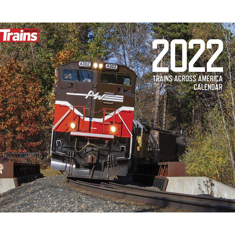 2022 Trains Across America Calendar