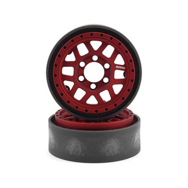 KMC 1.9 XD229 Machete V2 Red Anodized