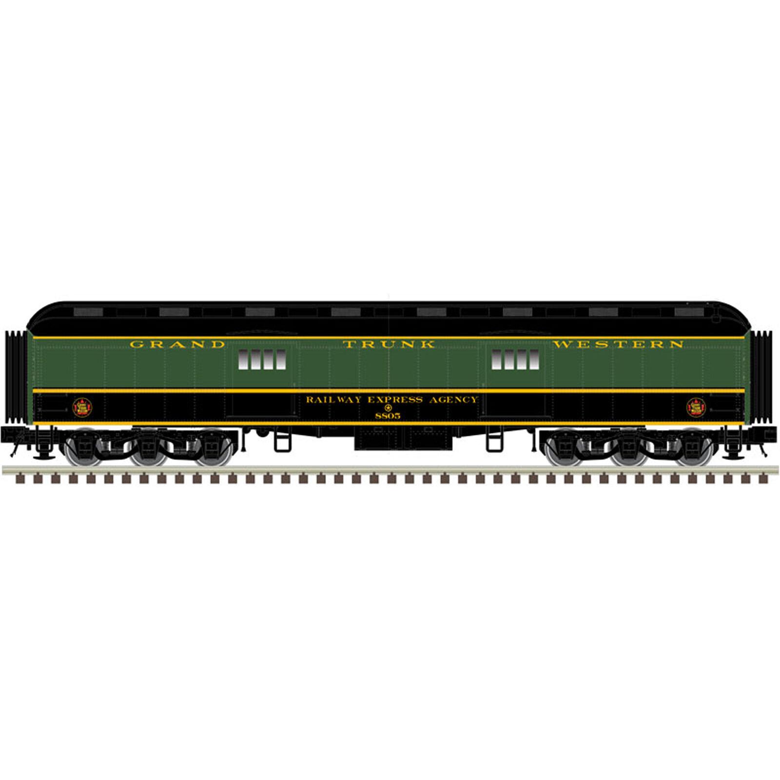 N Trainman 60' Baggage Car GTW #8802