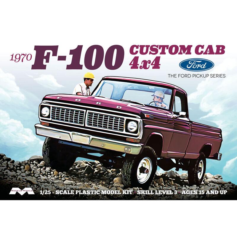 1/25 1970 Ford F-100 Custom Cab 4x4