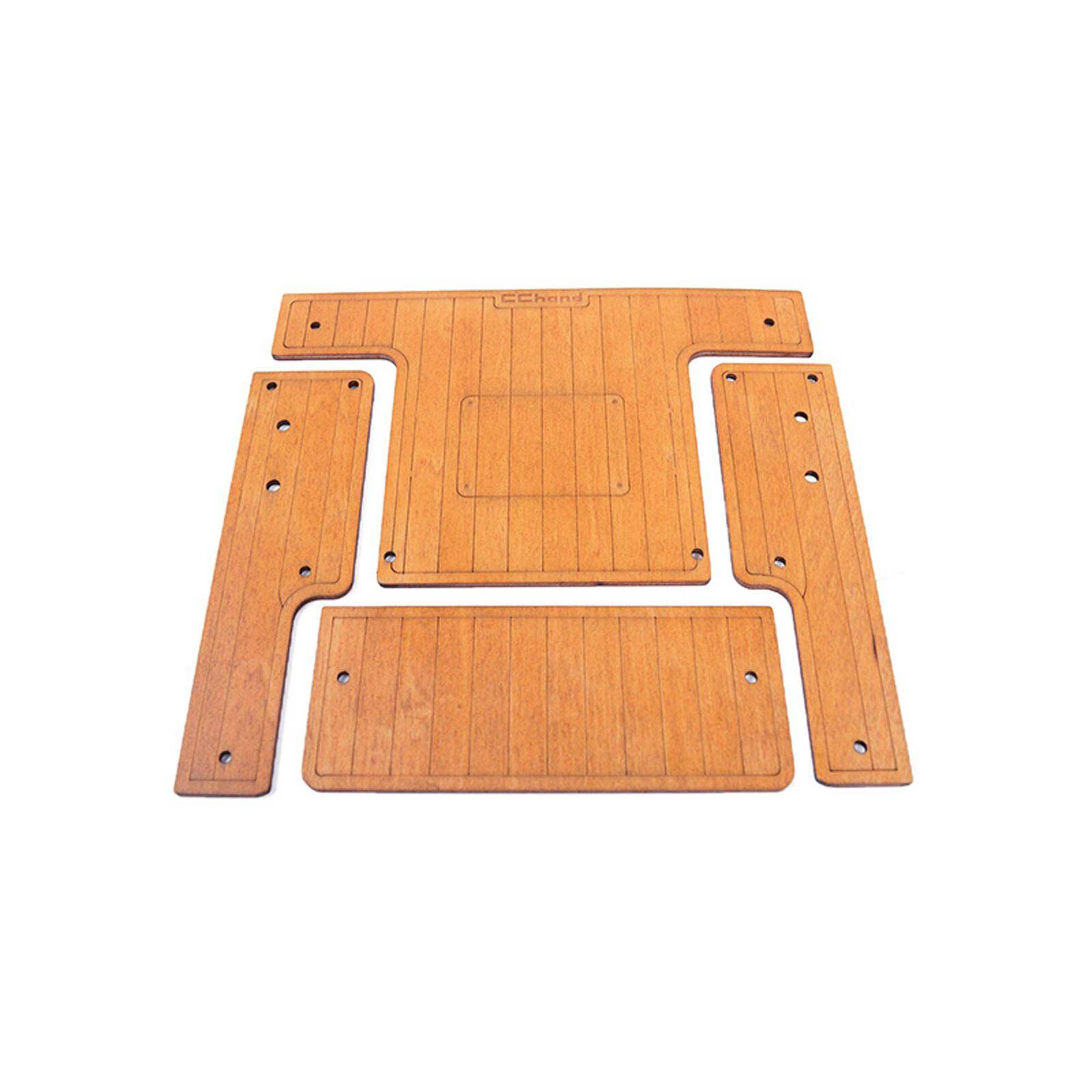 Cargo Bed Wood Decking-Gelande II 2015 D90