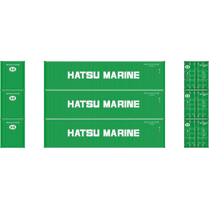 N 40' High-Cube Container Hatsu Marine (3)