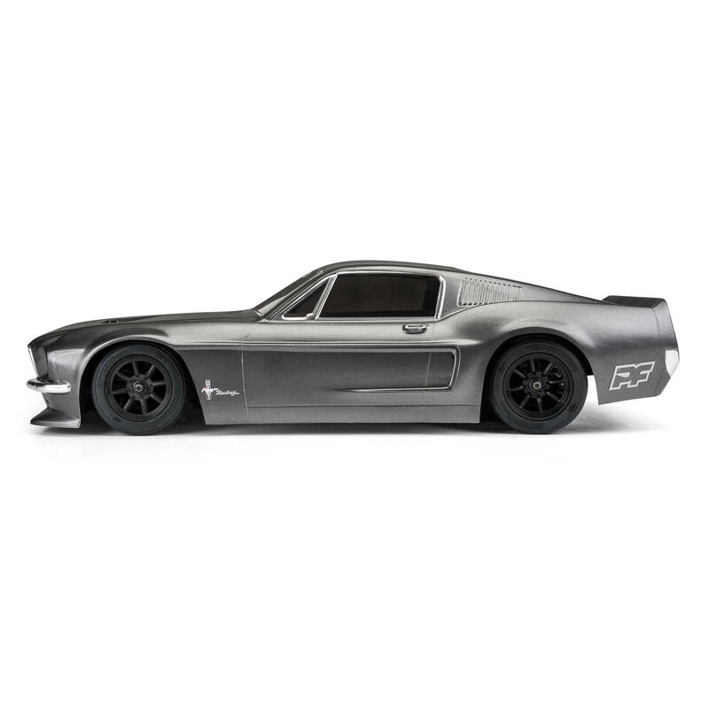 1/10 1968 Ford Mustang Clear Body: VTA Class