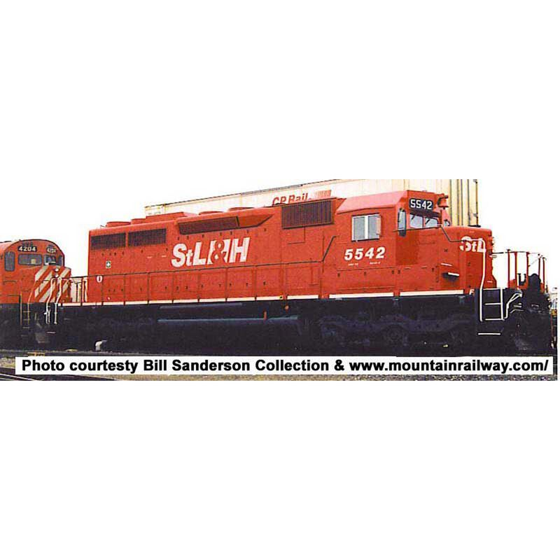 HO SD40 w DCC & Sound STL&H #5524