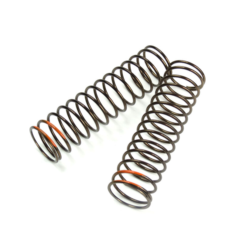 LF Shock Spring Set, Rear, 1.6x14.5, 85mm, Orange