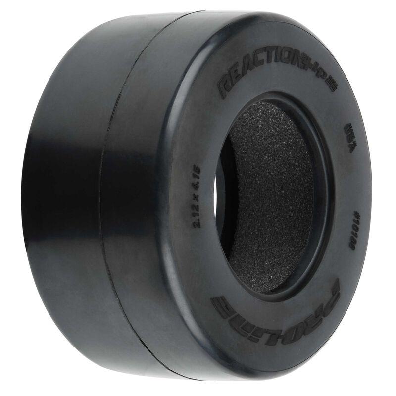 1/10 Reaction+ HP Wide SC S3 Drag BELTED Tires