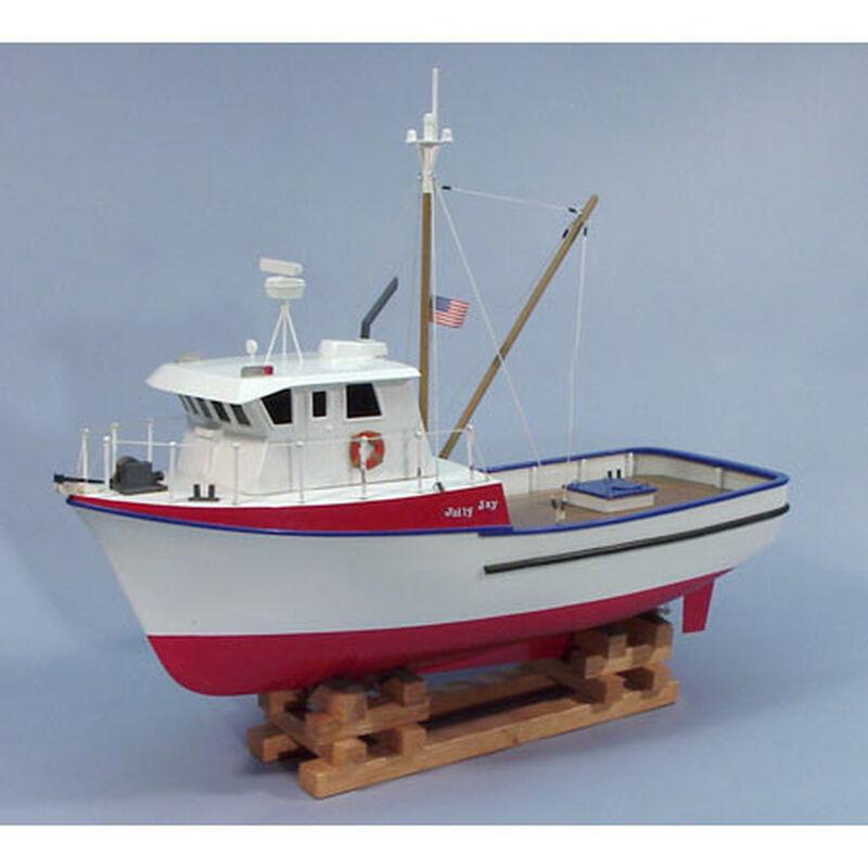 """1/30 The Jolly Jay Trawler Boat Kit, 24"""""""