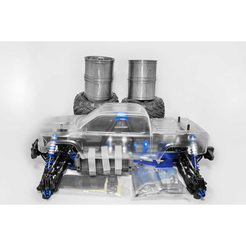 1/10 Hyper MT Plus II 4WD Monster Truck Brushless ARTR with Clear Body
