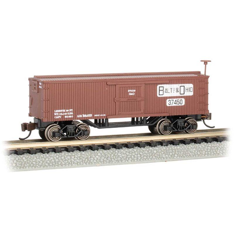 N Scale Old Time Box Car B&O