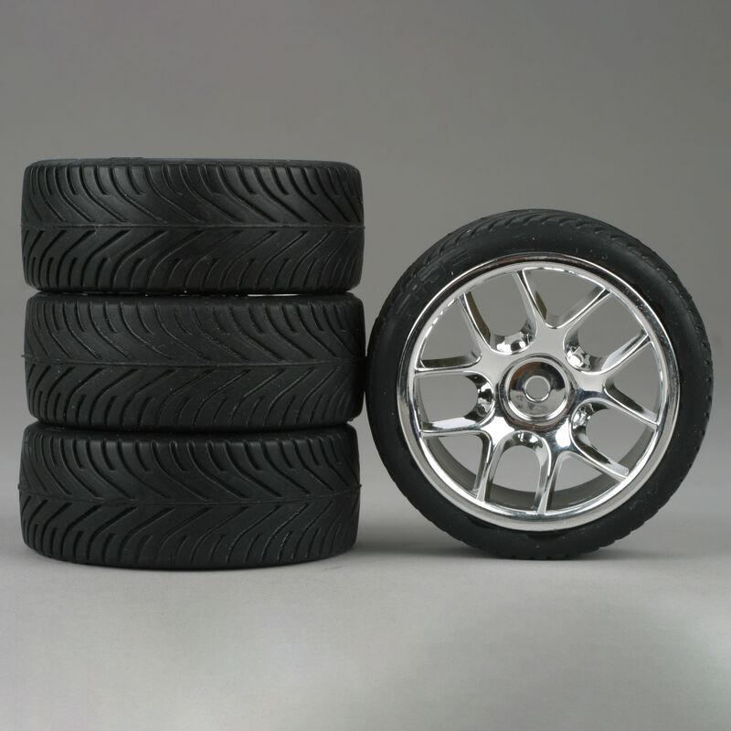 10-Spoke Chrome Wheel, Radial (4)