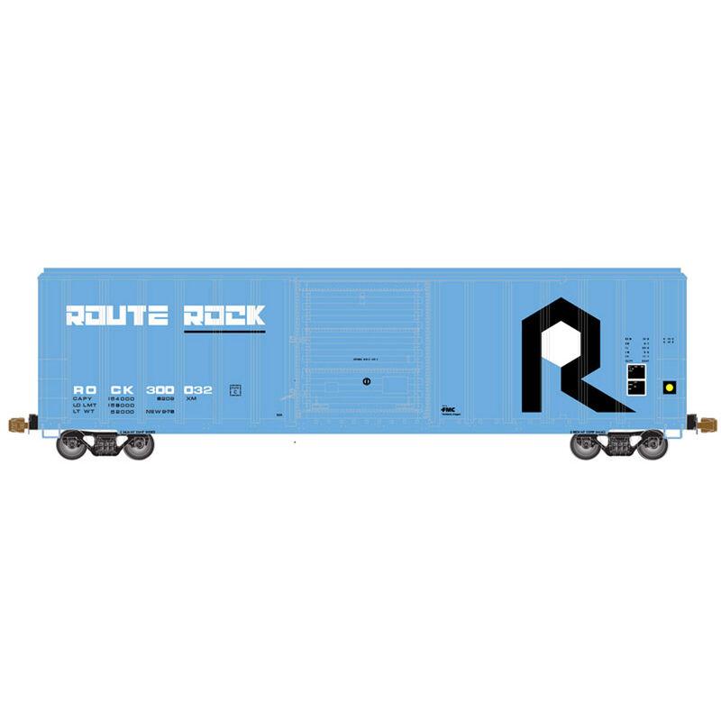 HO FMC 5347 Single Door Box RI Route Rock #300032