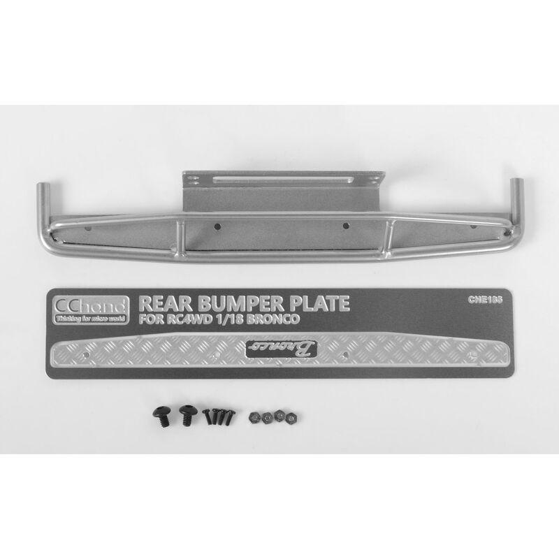 1/18 Rear Bumper, Silver: Gelande II BlackJack RTR