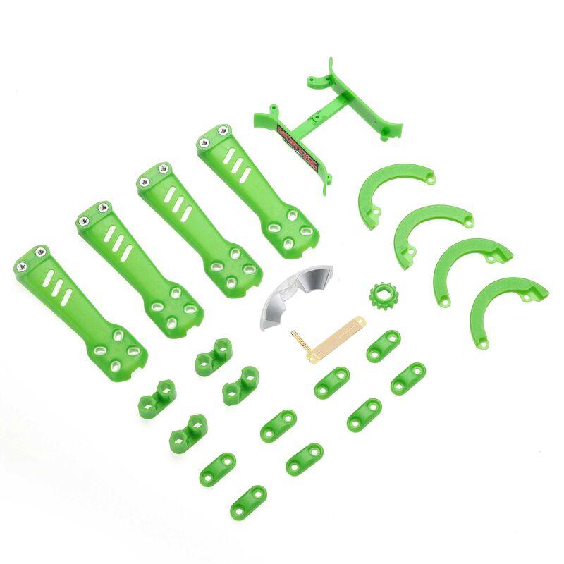 Plastic Kit, Green: Vortex 230