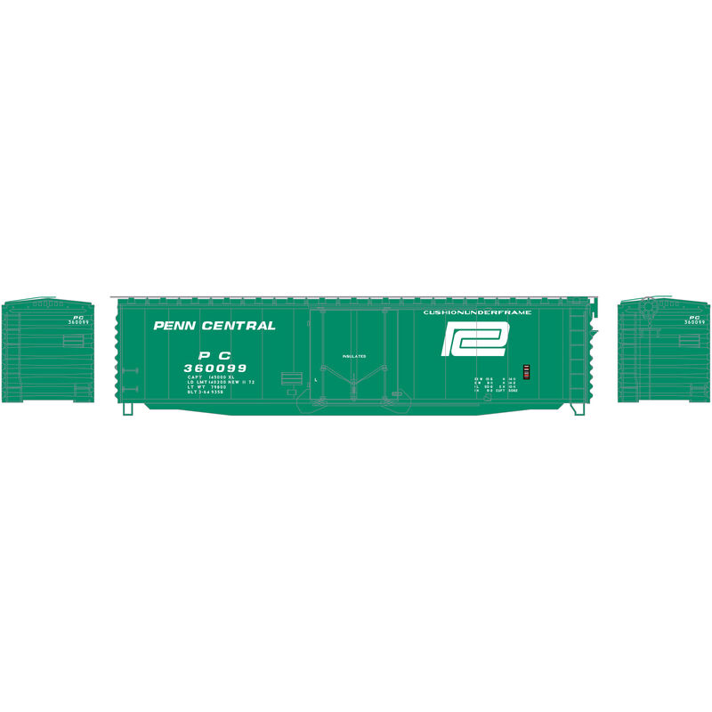 N 50' PS-1 Plug Door Smooth Side Box PC #360099