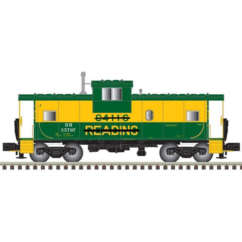 HO Extended Vision Caboose D&H #35797
