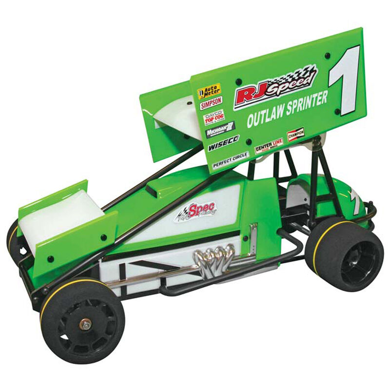 1/10 Electric Outlaw 2WD Sprint Car Kit