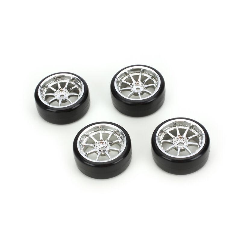 Type5 Complete Wheel/Tire Set(4): Drift