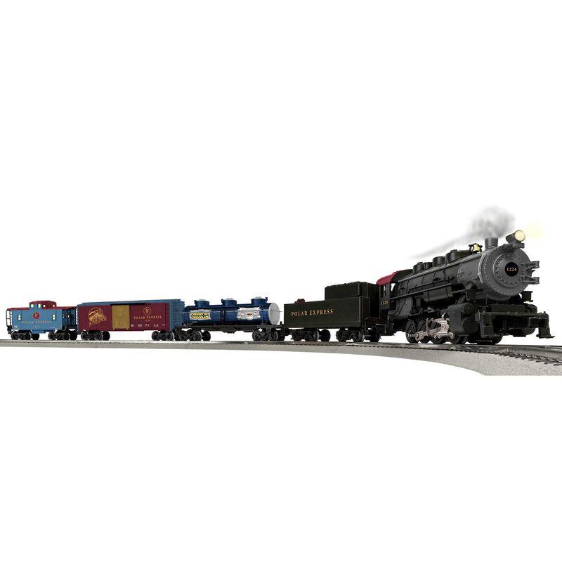 O31 , THE POLAR EXPRESS Freight LionChief Set