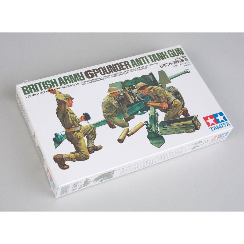 1/35 British 6 Lb Anti-Tank