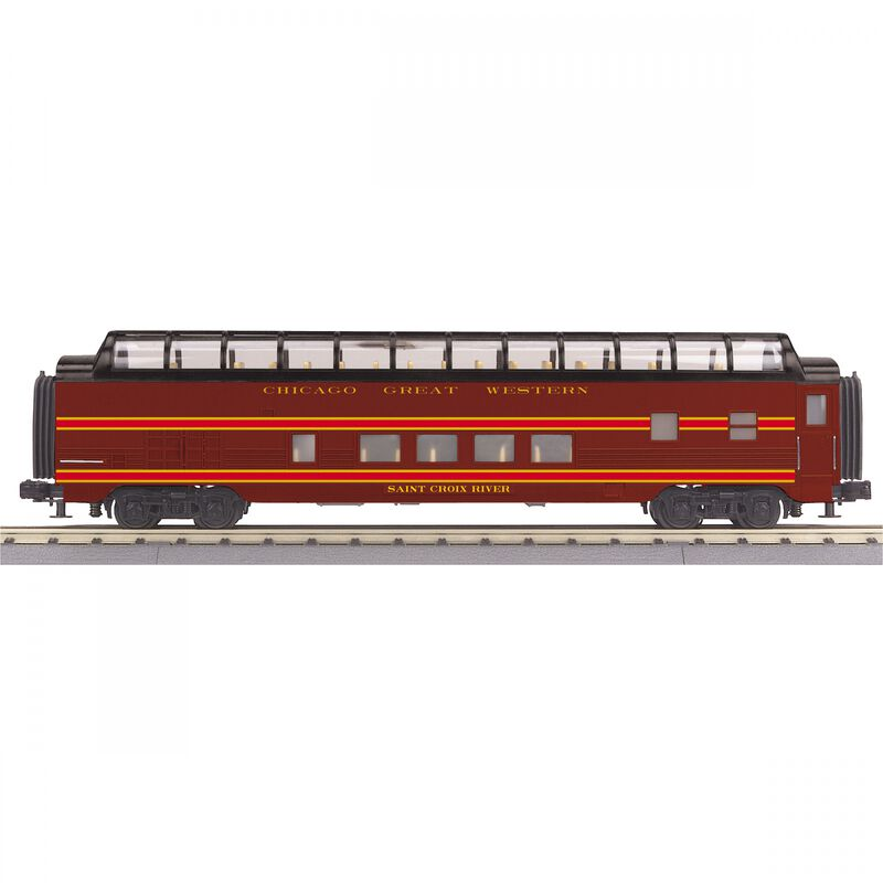 O-27 60' Streamlined Full-Length Vista Dome CGW