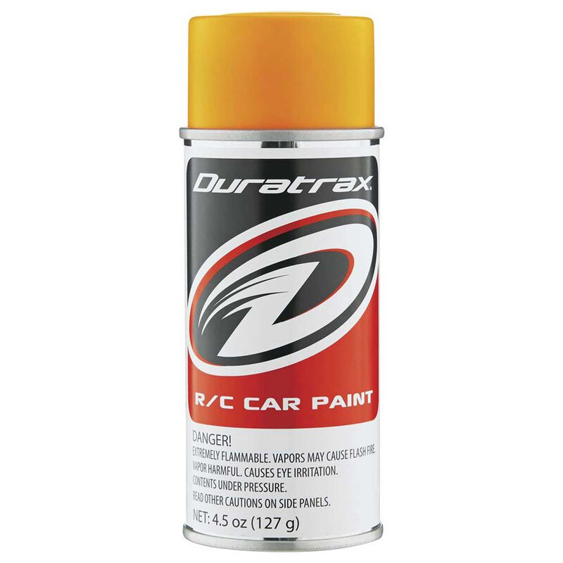 Polycarb Spray, Fluorescent Bright Orange, 4.5oz