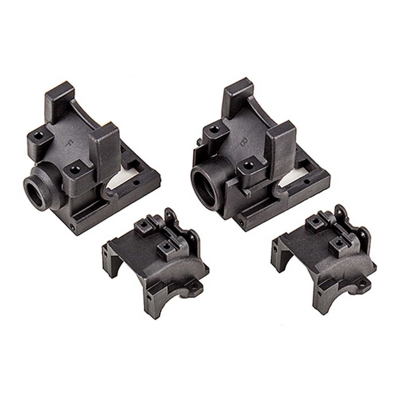 Front and Rear Gearboxes: Rival MT10