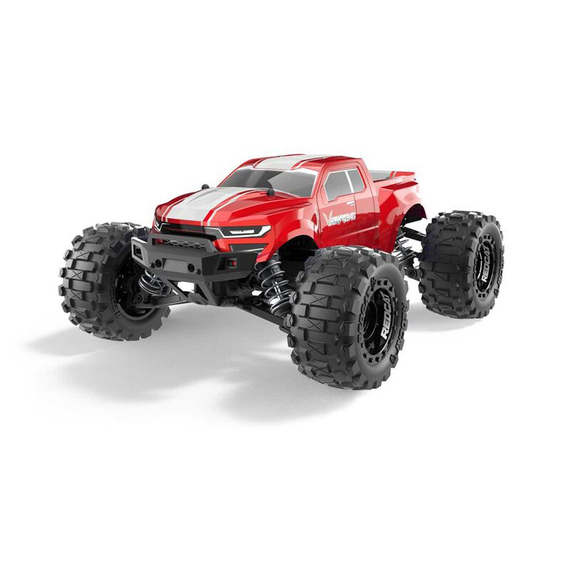 1/10 Volcano-16 Monster Truck RTR, Red
