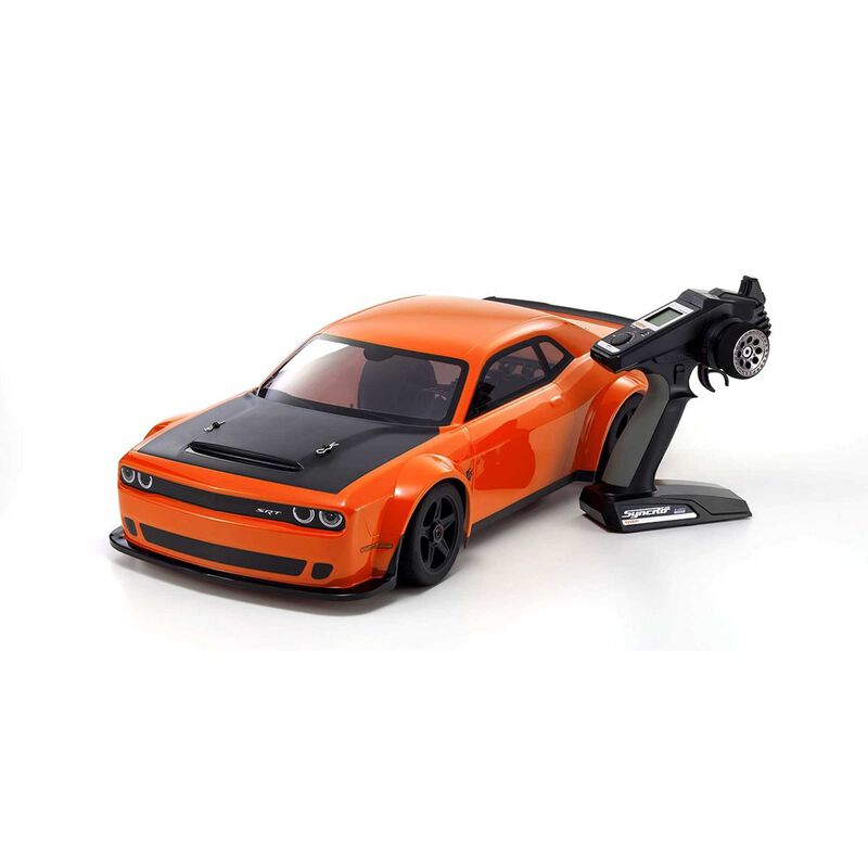 1/8 Inferno GT2 EP 4WD Challenger Demon Brushless RTR, Orange