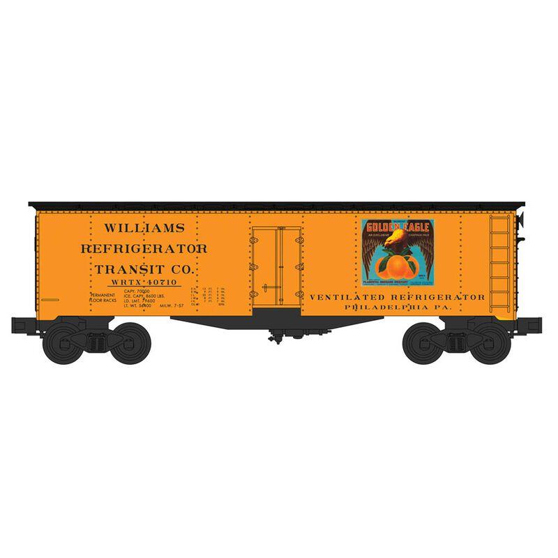 O Williams 40' Reefer, Golden Eagle Oranges